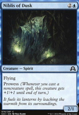 Shadows Over Innistrad Foil: Niblis of Dusk