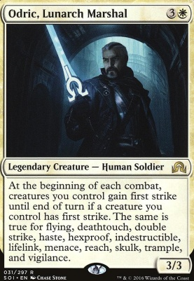 Shadows Over Innistrad: Odric, Lunarch Marshal