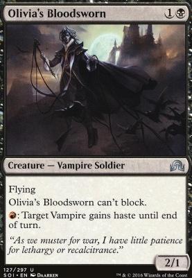 Shadows Over Innistrad: Olivia's Bloodsworn