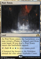 Shadows Over Innistrad Foil: Port Town