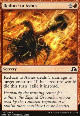Shadows Over Innistrad: Reduce to Ashes