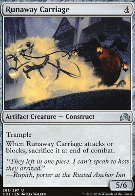 Shadows Over Innistrad: Runaway Carriage
