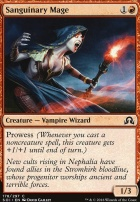 Shadows Over Innistrad Foil: Sanguinary Mage