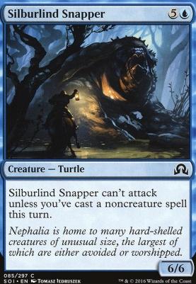 Shadows Over Innistrad Foil: Silburlind Snapper