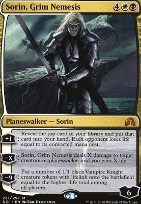 Shadows Over Innistrad: Sorin, Grim Nemesis