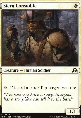 Shadows Over Innistrad Foil: Stern Constable