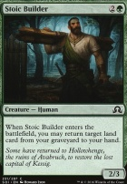 Shadows Over Innistrad Foil: Stoic Builder