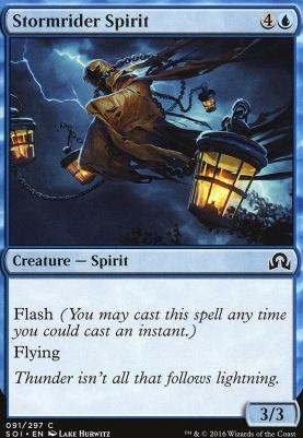 Shadows Over Innistrad Foil: Stormrider Spirit