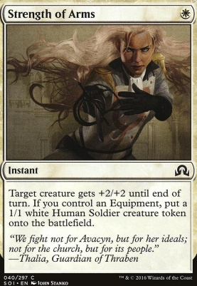 Shadows Over Innistrad Foil: Strength of Arms