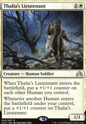 Shadows Over Innistrad: Thalia's Lieutenant