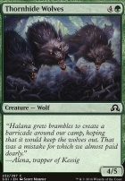 Shadows Over Innistrad Foil: Thornhide Wolves