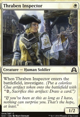Shadows Over Innistrad: Thraben Inspector