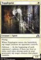 Shadows Over Innistrad Foil: Topplegeist