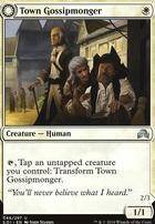 Shadows Over Innistrad: Town Gossipmonger