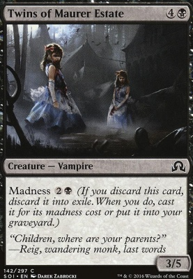 Shadows Over Innistrad: Twins of Maurer Estate