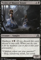 Shadows Over Innistrad Foil: Twins of Maurer Estate