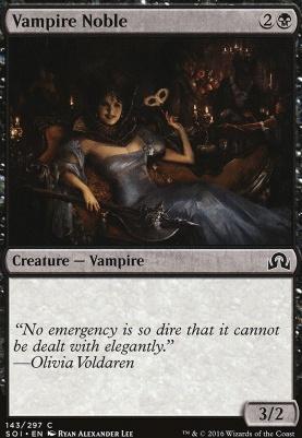 Shadows Over Innistrad Foil: Vampire Noble