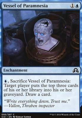 Shadows Over Innistrad Foil: Vessel of Paramnesia