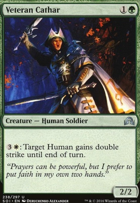 Shadows Over Innistrad Foil: Veteran Cathar