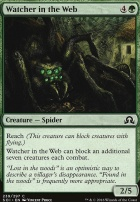 Shadows Over Innistrad Foil: Watcher in the Web