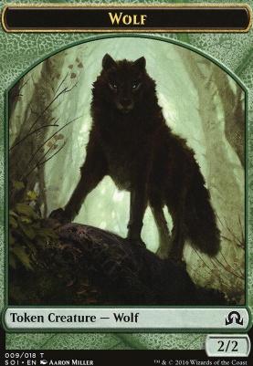 Shadows Over Innistrad: Wolf Token
