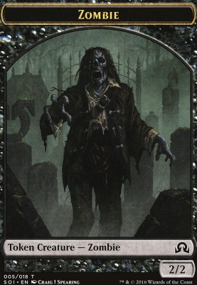 Shadows Over Innistrad: Zombie Token