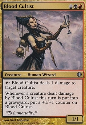 Shards of Alara: Blood Cultist