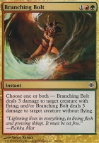Shards of Alara Foil: Branching Bolt