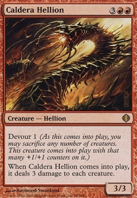 Shards of Alara: Caldera Hellion
