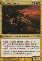 Shards of Alara Foil: Carrion Thrash