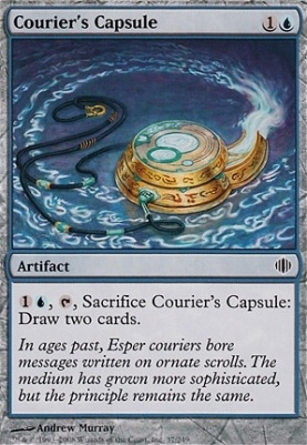 Shards of Alara Foil: Courier's Capsule