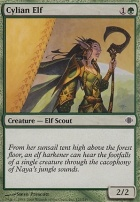 Shards of Alara Foil: Cylian Elf