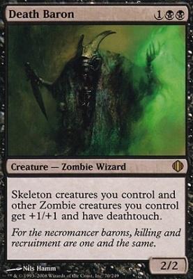 Shards of Alara Foil: Death Baron