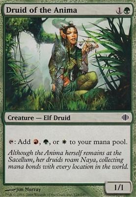 Shards of Alara Foil: Druid of the Anima