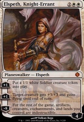 Shards of Alara Foil: Elspeth, Knight-Errant