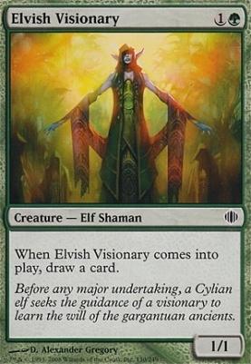 Shards of Alara Foil: Elvish Visionary