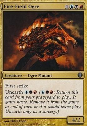 Shards of Alara Foil: Fire-Field Ogre