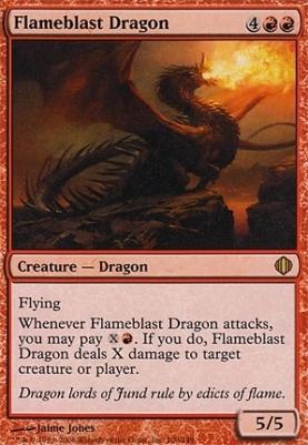 Shards of Alara: Flameblast Dragon