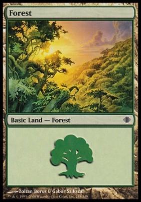 Shards of Alara: Forest (248 C)