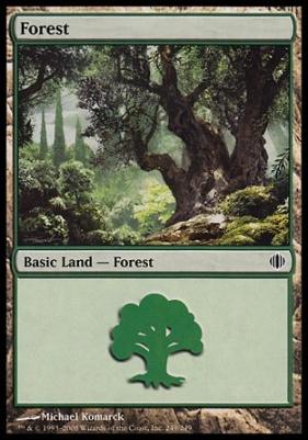 Shards of Alara: Forest (249 D)