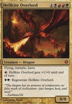 Shards of Alara Foil: Hellkite Overlord