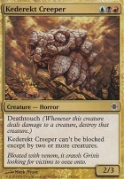 Shards of Alara Foil: Kederekt Creeper