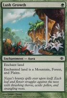 Shards of Alara Foil: Lush Growth