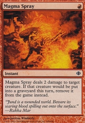 Shards of Alara: Magma Spray