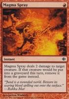 Shards of Alara Foil: Magma Spray