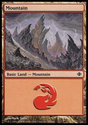 Shards of Alara: Mountain (242 A)