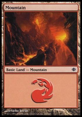 Shards of Alara: Mountain (243 B)