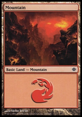 Shards of Alara: Mountain (244 C)