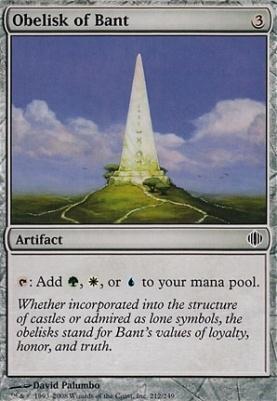 Shards of Alara: Obelisk of Bant