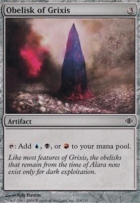 Shards of Alara: Obelisk of Grixis